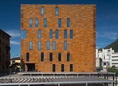 Laboratori Chimici UNICO - Picture gallery #architecture #interiordesign #façade #corten