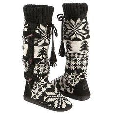 Muk Luks Women's Mishka Tall Knit Boot