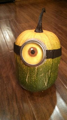 Dave the Minion is excited for Halloween!