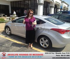 https://flic.kr/p/wseHPP | #HappyAnniversary to Emily Haynes  on your 2013 #Hyundai #Elantra from Jerry Michalak at Absolute Hyundai! | www.hyundaiofdallas.com/?utm_source=FlickR&utm_medium...