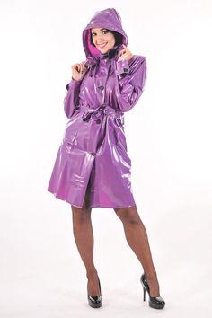 Pvc u like Vinyl Raincoat, Pvc Raincoat, Raincoat Jacket, Plastic Raincoat, Plastic Pants, Hooded Raincoat, Rain Jacket, Hooded Cloak, Hooded Dress