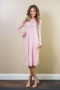 Tammy Pocket Tunic Dress