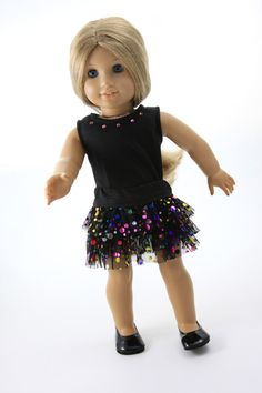 American Girl Doll Clothes  Tutu Skirt and by andreajenethreads, $25.00