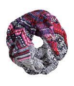 Jacquard-knit Tube Scarf