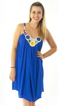 Dress Rondo in Brilliant Blue $59.99