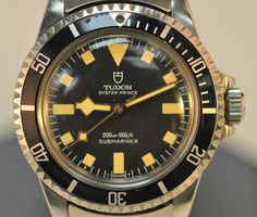 The Tudor brand of Rolex watches includes several classic styles that speak to the heart of Rolex collectors everywhere.  With Tudor two-register chronographs in either 7031 or 7032 models, high-contrast colors and legendary dive capacities, the Snowflake has become the epitome of Tudor design.