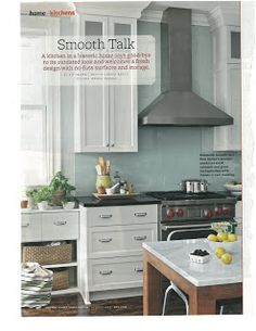 Articles for Pinterest: Bright, clean kitchen