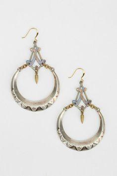Bing Bang Moon Chandelier Earring #urbanoutfitters