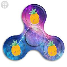 Happy Pineapple Fidget Spinner Toys Hand Spinner Tri-fidget Spinners Stress Reducer - Fidget spinner (*Amazon Partner-Link)