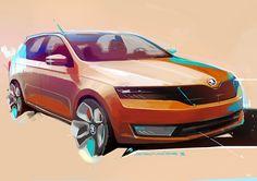 Car Design Sketch, Car Sketch, Photoshop Rendering, Car Car, Car Vehicle, Transportation Design, Future Car, Concept Cars, Cool Cars