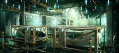 Boat_lifePod_Area Deus Ex 3 DLC by Gryphart.deviantart.com on @deviantART