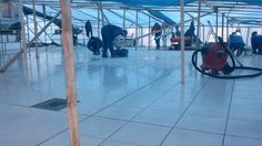Taras w Jastrzębiej Górze. Cały taras wykonany w systemie naszej firmy. Ponad 300 m2 izolacji.