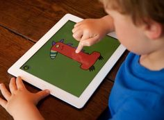 """The """"Little Digits"""" app teaches kids how to count and do simple addition and subtraction."""