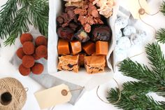 6 lækre og nemme konfektopskrifter – En Madblog Appetizer Recipes, Appetizers, Christmas Baking, Christmas And New Year, Sweets, Candy, Cheese, Snacks, Dinner