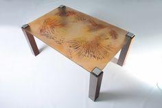 Designer Tables - ST1B Drafting Desk, Glass Door, Fused Glass, Tables, Furniture, Design, Home Decor, Mesas, Decoration Home
