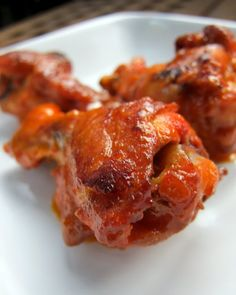 Who doesn't like Buffalo Wings! OK, we baked them @ 400* for 10 miutes, flipped added 10 more...for three times. Then set oven on Broil till side was crispy, then flipped and broiled other side. Continue broiling to your liking of Crispyness. I also Used FRANKS Red Hot WINGS Sauce Buffalo....Great Flavor !