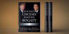 Dlaczego chcemy żebyś był bogaty autorstwa Donalda Trumpa i Roberta Kiyosaki to książka, której projektem, składem oraz przygotowaniem do druku zajmowało się nasze studio.  Zapraszamy: dtpowiec.pl
