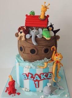 Noah's Ark 3 tier cake - tutorial to buy on etsy - https://www.etsy.com/uk/listing/195350948/noahs-ark-2-tier-ganached-cake-pdf?ref=sc_1&plkey=598cf9ef9c858b90fd52c6ab8517d0d687d72283%3A195350948&ga_search_query=noah%27s+ark+tutorial&ga_search_type=all&ga_view_type=gallery