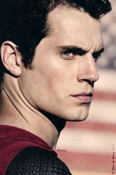 The Superman glare