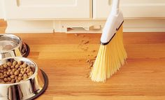 Central vacuum cleaners are great. Even greater with this vent under the kitchen cabinets. ~I have wanted a central vac in my dream home forever. Central Vacuum Cleaner, Baseboards, Log Homes, My Dream Home, Future House, Beams, Luxury Homes, House Plans, Sweet Home