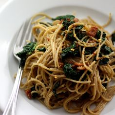 >Easy, quick and simple – Kale Carbonara   life, in recipes