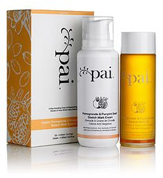 Pai Pomegranate & Pumpkin Seed Stretch Mark System for Pregnancy