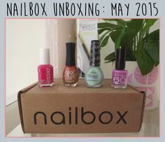 Beauty with Charlotte: Nailbox Unboxing: May 2015