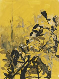 Artwork by Graham Sutherland, (i) Study for 'Leaves'; (ii) Study for 'Interior, Made of pencil, ink, chalk and gouache on paper Gouache, Graham, Trust, Auction, Pencil, Study, Leaves, Ink, Paper