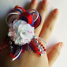 Custom Sizeable Homecoming Mum Rings by TheFashionJunkies on Etsy