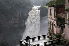 The Hotel del Salto, Tequendama Falls, Bogotá River, Colombia. The Marshall Center has 37 from Colombia as of April Places Around The World, Oh The Places You'll Go, Places To Travel, Places To Visit, Around The Worlds, Magic Places, Adventure Is Out There, Belle Photo, Resorts