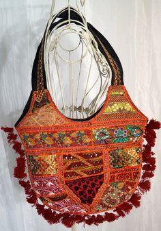 Handtasche Indien / Schultertasche / Hippie Style