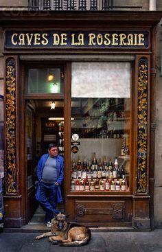 Travel 2008 - Visting European Capitals on a Budget -- New York Magazine - Nymag Caves de la Roseraie, Paris ~ wineshop storefrontCaves de la Roseraie, Paris ~ wineshop storefront Paris Travel, France Travel, Caves, Belle France, I Love Paris, Shop Fronts, City Lights, Architecture, Shops