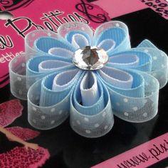 Cinderella Loopy Daisy hair clip