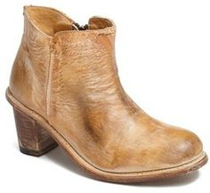 Bed Stu 'Sonic' Distressed Leather Bootie