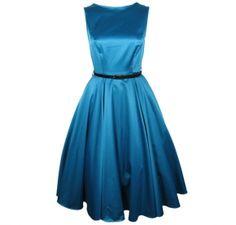 "Kleid ""Holiday"" turquoise - MISS MOLE"