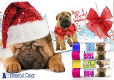 HOLIDAY Gift Chinese Shar-pei Dog Combo From by TheBlissfulDog
