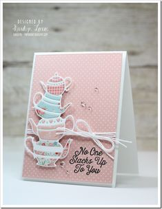 Coffee Lover's Spring Blog Hop!  Inlaid die cutting from Memory Box!