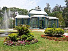 """Palácio de Cristal em Petrópolis (RJ) - Foto pertencente ao volume 3 do livro """"Pelos caminhos da Estrada Real""""."""