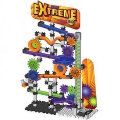 Techno Gears  - Marble Mania Extreme 3.0 $44.97 A new updated 3.0 version of the popular Marble Mania Extreme that allows your child build and bring into motion a 200 pc marble run construction. http://www.educationaltoysplanet.com/techno-gears-marble-mania-extreme-2-0.html