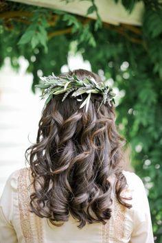 Os melhores penteados para noiva com cabelo solto Image: 4