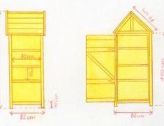 Fabriquer une armoire murale et table rabattable balcon - Comment fabriquer une armoire murale ...