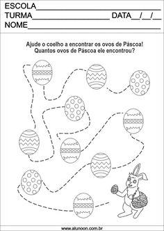Contagem de ovos de Páscoa! - Educação Infantil - Aluno On