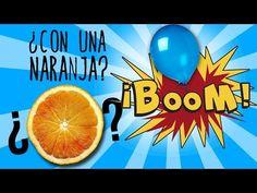 Cómo explotar un globo con una naranja (Experimentos Caseros) - YouTube