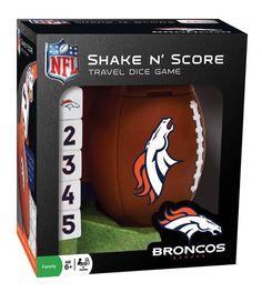 Denver Broncos Shake N' Score Game