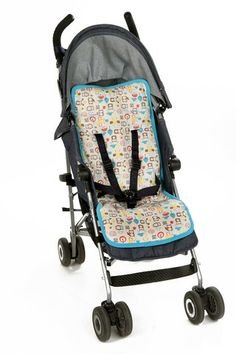 Mezoome USA - Organic Pattern Stroller Liner - 2 Colors
