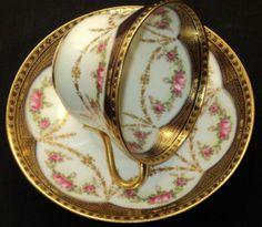 4:00 Tea...Paragon...'Gold Jewel'...teacup and saucer