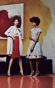 RECOLLECT VINTAGE | Current Inspiration ___________________________ Steven Meisel for Vogue.