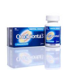 Omnibionta3 Mental Energy   Omnibionta3 Mental Energy biedt een unieke combinatie van een magnesiumcomplex (Mg++) met vitamines en mineralen om de mentale vermoeidheid doeltreffend te verminderen. Dankzij de innoverende formule, die ontwikkeld werd om de weerstand tegen stress en vermoeidheid te verbeteren, zal je steeds uitmuntend presteren. Dit voedingssupplement is geschikt voor mensen vanaf 12 jaar om tegemoet te komen aan de specifieke behoeften tijdens mentaal uitputtende periodes.