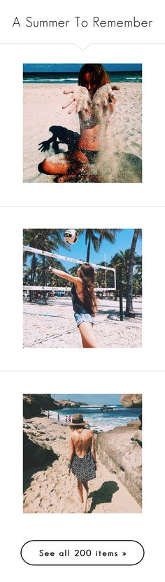 """""""A Summer To Remember"""" by cheyenne-stock ❤ liked on Polyvore featuring insta, instagram, accessories, finn, harries, jacksgap, images, gemma, photo and photos"""
