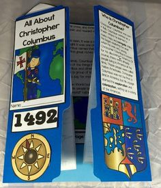All About Christopher Columbus Lap Book. This All About Christopher Columbus lap book can be a great way for kids to be introduced to the man credited for the discovery of the Americas while covering a multitude of skills such asking and answering questions in informational text, working with content vocabulary, and determining authors purpose.